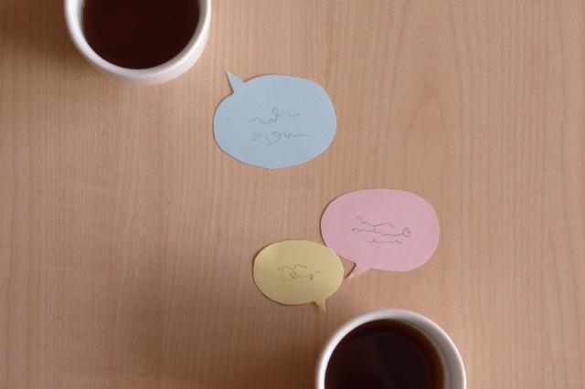 カフェで手帳タイムを過ごす