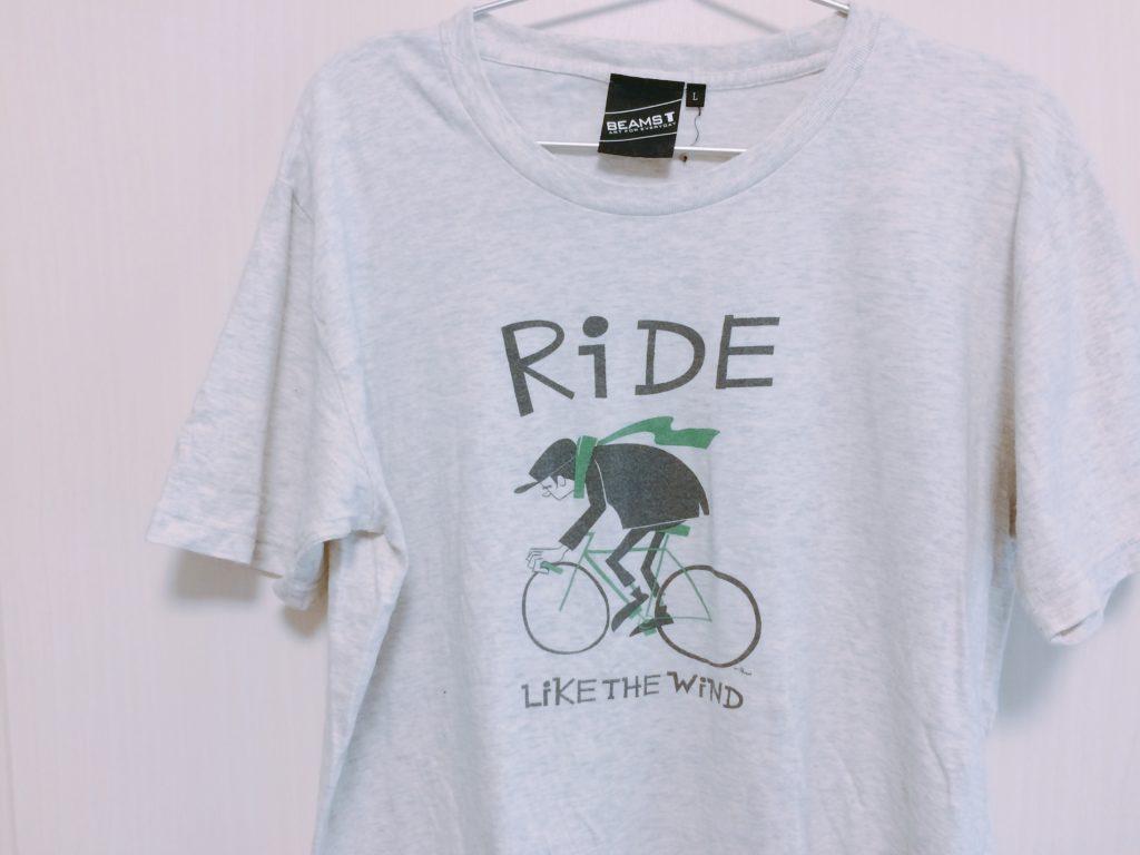 彼氏・夫におしゃれになるために着てもらいたいかわいい自転車のTシャツ