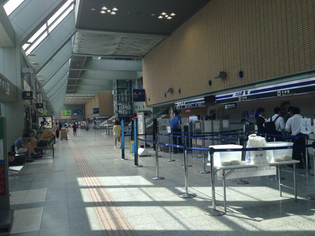 愛媛・松山空港の様子