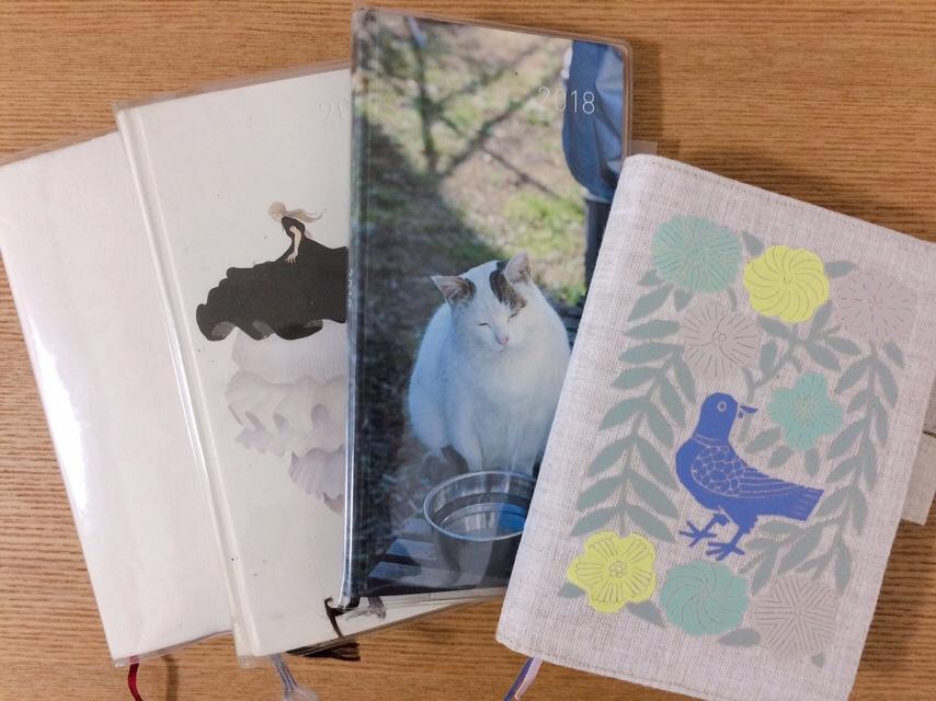 ほぼ日手帳オリジナル・weeks、無印良品の手帳